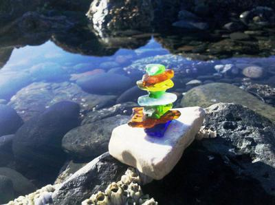 Homer Spit Beach - Sea Glass 1