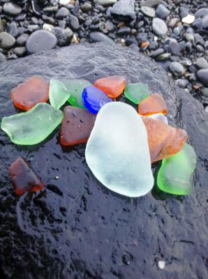 Homer Spit Beach - Sea Glass 2