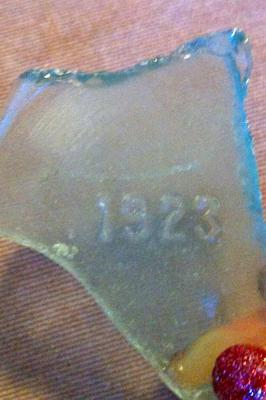 ID this Pale Blue 1923 Glass Shard