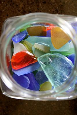 Jar Of Glass  - July 2012 Sea Glass Photo Contest