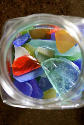 Jar of Glass  - May 2012 Sea Glass Photo Contest