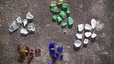 My sea glass collection