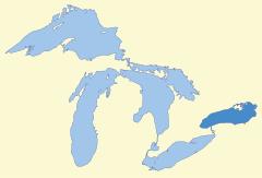 lake ontario sea glass map
