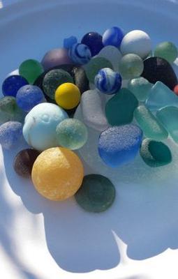 Sea glass photo contest winner