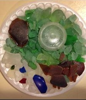 Maine treasures - Sea Glass