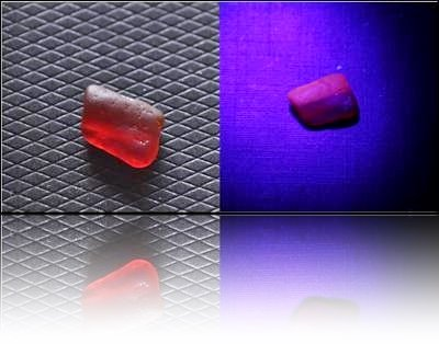 Manganese Red Sea Glass