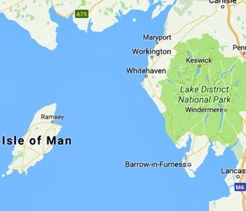 Map Of Uk Beaches.Sea Glass British Isles