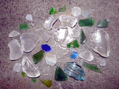 Tulista Park Beach, Sidney, BC Beach Glass