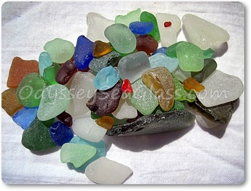 Mixed Colors Origins of Sea Glass