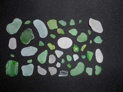 Moonstone Beach Sea Glass RI