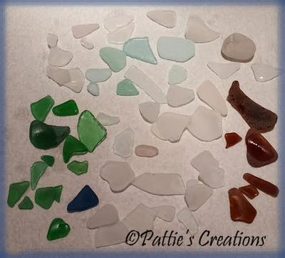 New Jersey Beach Sea Glass - October 27, 2015