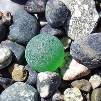 sea glass marble