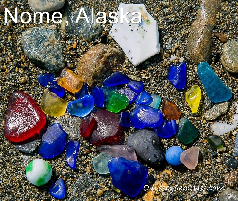 Nome, Alaska Beach and Sea Glass Reports