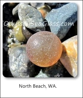 agate marble north beach washington state usa