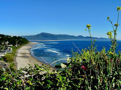 Oceanside Oregon Beach View
