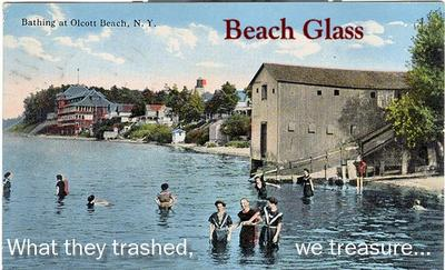 Olcott Beach - What They Trashed, We Treasure