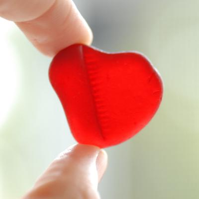 A giant red heart!