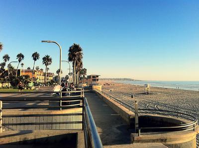Pacific Beach, San Diego, Southern California, USA