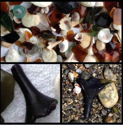 Texas Beaches Sea Glass Report