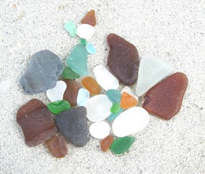 Punta Veleros Sea Glass Find 04/27/10