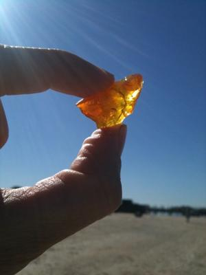Pure Sunshine - December 2011 Sea Glass Photo Contest