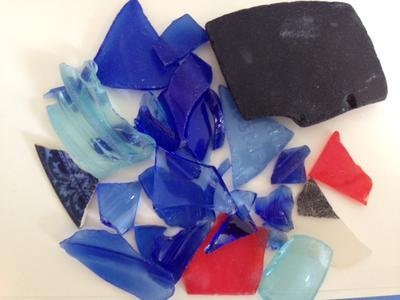 Rare Colors - August 2012 Sea Glass Photo Contest