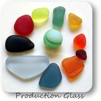 Rare Production Glass Colors - OdysseySeaGlass.com