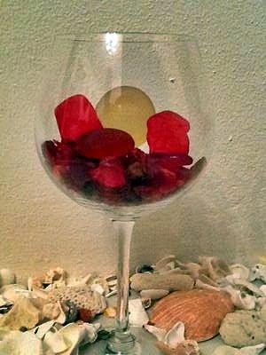 Red Bermuda Sea Glass