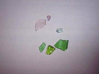 River Beach Glass Willamette Oregon
