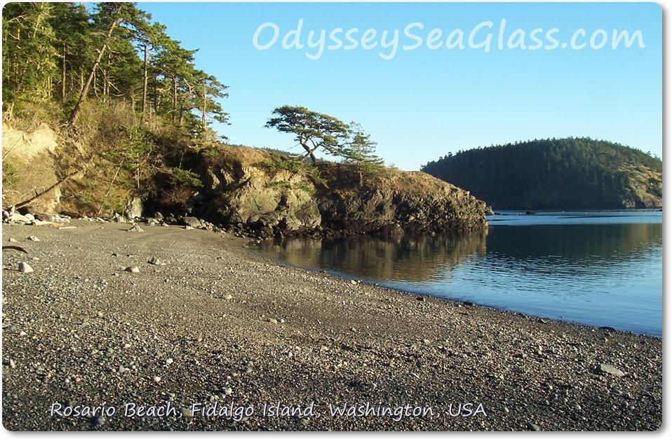 Rosario Beach Washington Sea Glass