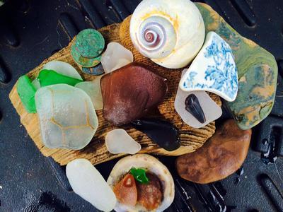 Sandy Sea Glass