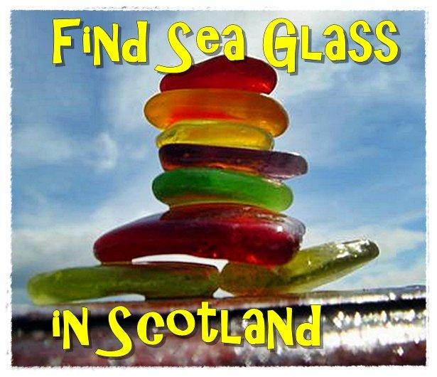 Find Sea Glass in Scotland