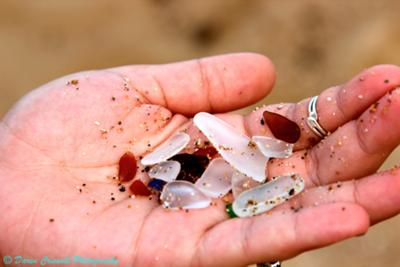 Sea Crystals - Sea Glass Photo Contest December 2011