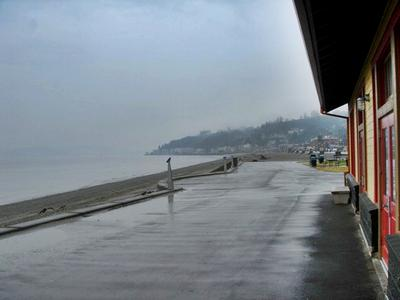 Alki Beach on a rare uncrowded day LOL