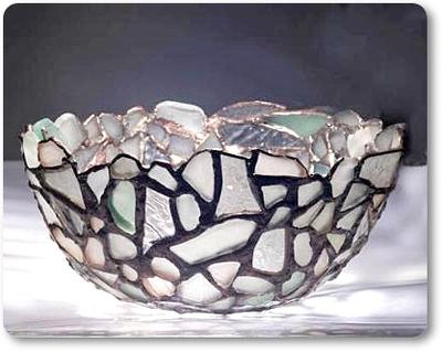 Memories - Sea glass bowl