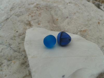 Sea Glass Beads - Saranda, Albania