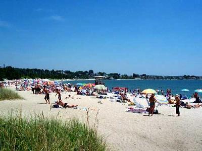 Rocky Neck State Park Beach