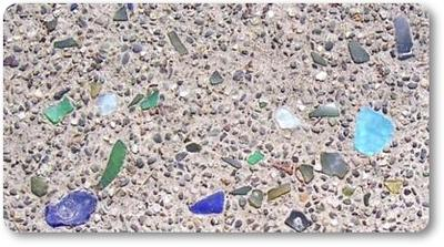 Sea Glass Concrete Driveway