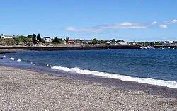 Beach along Grand Manan's North Head
