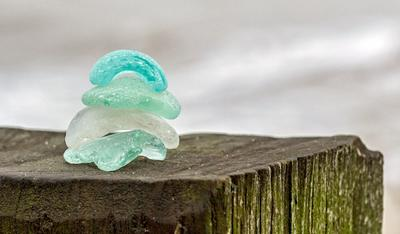 Sea Glass in England!
