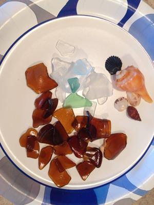 Sea Glass from Key Box Beach