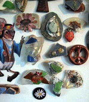 Sea Glass Magnets 3