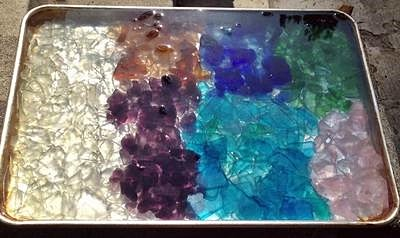 3 - Sea Glass Collection - Cleaning