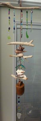 <i>Sea Glass Mobile Chimes</i>