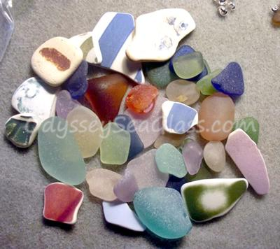 Beach Glass - Inverness, Nova Scotia, Canada