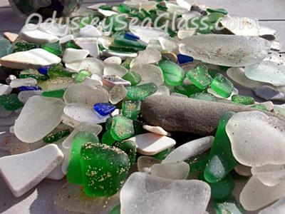 Sea Glass from Nova Scotia