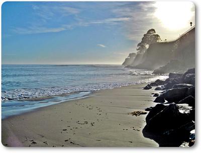 Eastside Santa Cruz Beaches have some sea glass