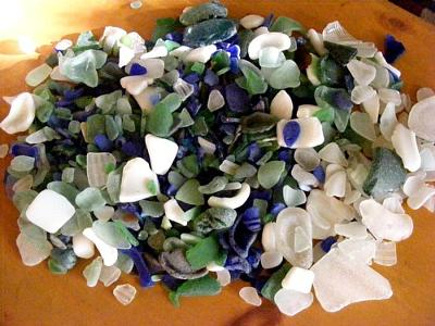 Sea Glass at Seaside State Beach, Monterey, CA