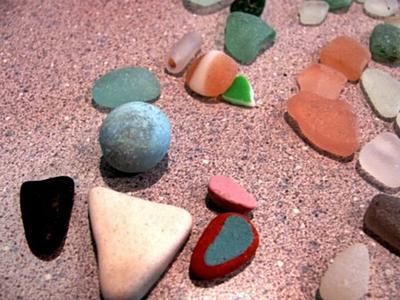Beach Glass Marble - Spain