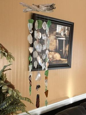 sea glass mobiles